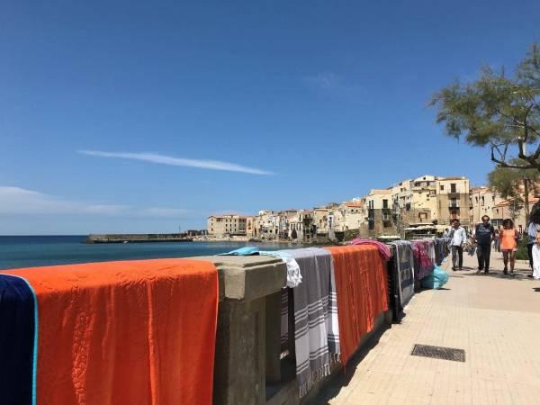 An der Promenade von Cefalù