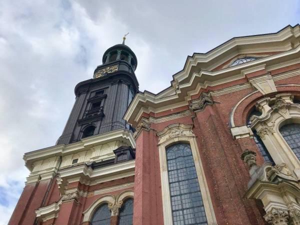 Das Wahrzeichen Hamburgs, der «Michel»