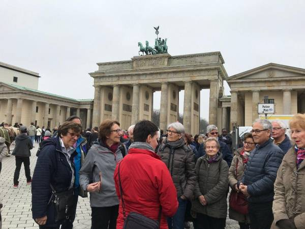Stadtbesichtigung in Berlin