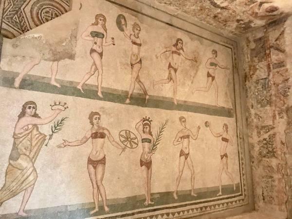 Mosaike in Piazza Armerina