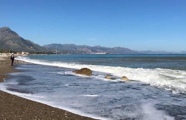 Erholsamer Tag am Meer