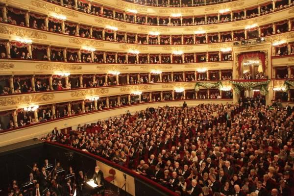 Ein Meisterstück zum 125-Jahre-Jubiläum: Die gloriose Mailänder Scala gehört am 6. März 2020 exklusiv den Gästen der Twerenbold-Reisefamilie. (Bild: Brescia e Amisano Teatro alla Scala)