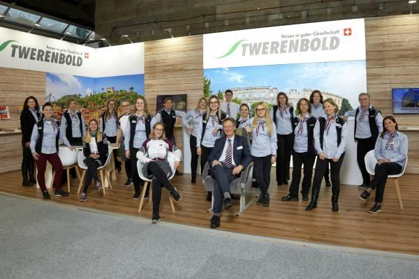 Das Twerenbold-Team: vereinte Passion fürs Reisen