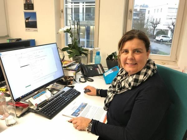 Monika Künzler organisiert jeweils die alljährliche Dankereise