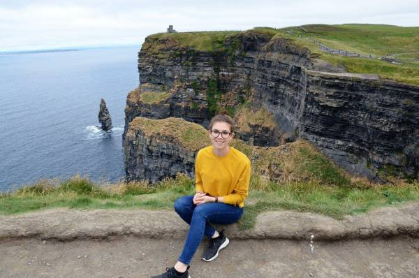Unsere Reiseberaterin, Sabrina Di Marzio, unterwegs in Irland
